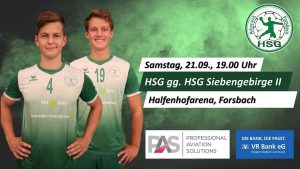 Vorbericht HSG Rösrath/Forsbach – HSG Siebengebirge II