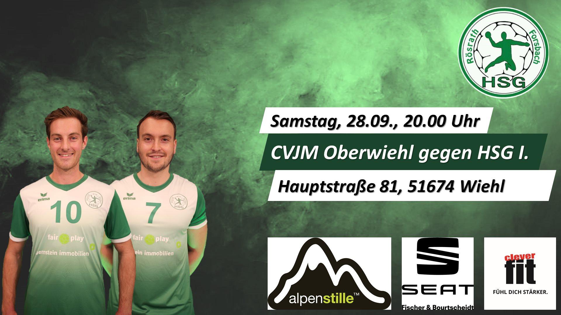 Vorbericht: CVJM Oberwiehl – HSG Rösrath/Forsbach