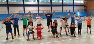 Erfolgreiches HSG-Handballcamp in Zusammenarbeit mit dem VfL Gummersbach!