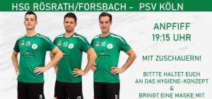 Saisonstart 1. Herren am 19.09.2020 gegen PSV Köln