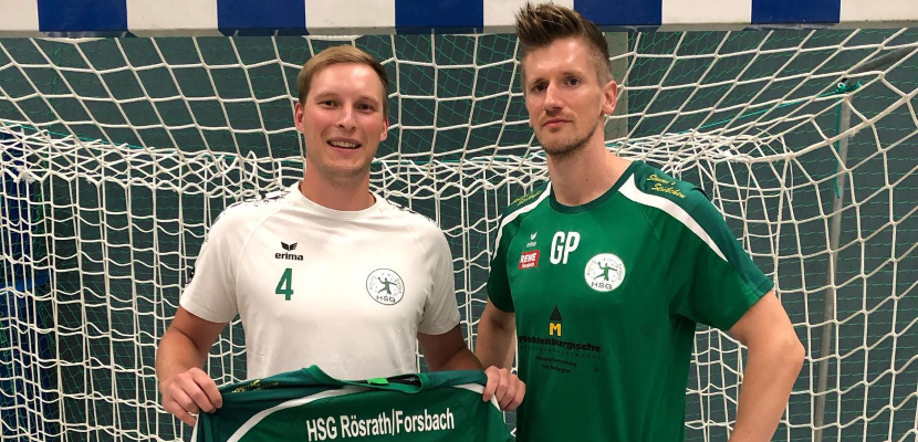 Max Sommershof verstärkt die HSG!