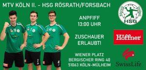 Vorbericht MTV Köln II – HSG Rösrath/Forsbach