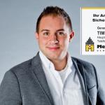 """Sponsor der Woche: """"Mecklenburgische Versicherungen Tim Berlingen"""""""