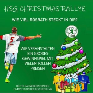 HSG Christmas Rallye – wie viel Rösrath steckt in Dir?