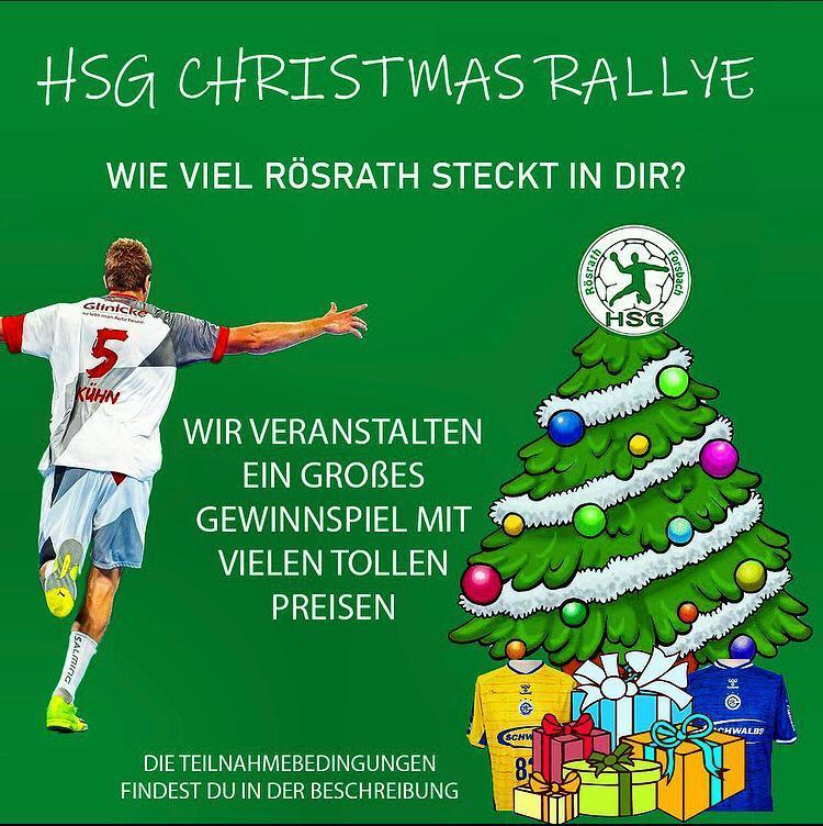 HSG Christmas Rallye - wie viel Rösrath steckt in Dir?