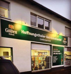 """Sponsor der Woche: """"Hoffnungsthaler Getränkehandel"""""""