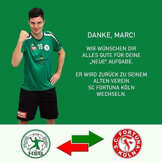 Marc Bartke verlässt die HSG nach einer Saison wieder