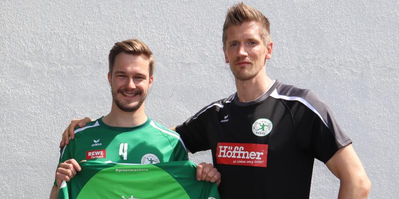 Read more about the article Jonas Bergerhoff verstärkt die HSG!